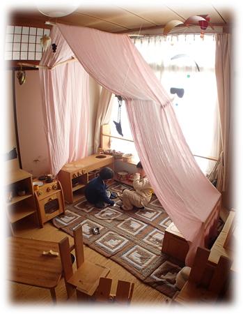 キャノピー 幼児 遊び 場所